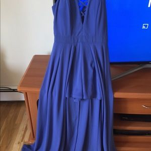 Romper Dress size medium blue